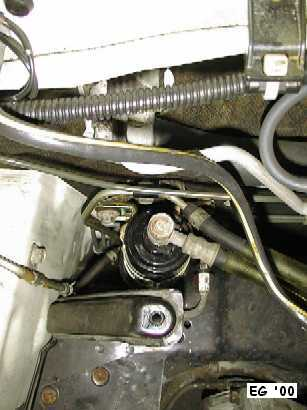 View of Fuel Filter from Above