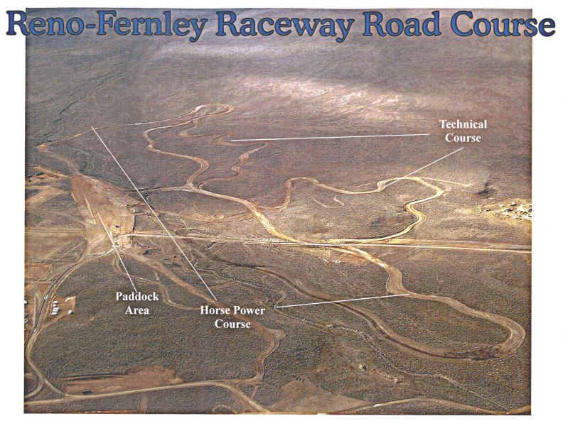 Reno-Fernley Course Plans